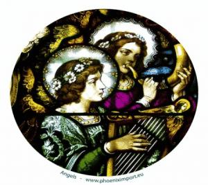 Fensterbilder Engel