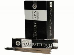 Räucherstäbchen Golden Nag Patchouli (12 Packungen)