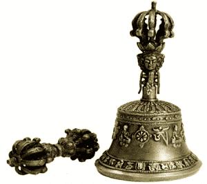 Dorje und Glocke Messing beste Qualität