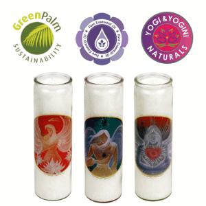 Duftkerzen Engel 3 Kerzen in Glas