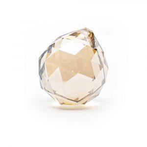 Regenbogen-Kristallkugel Champagner (50 mm)