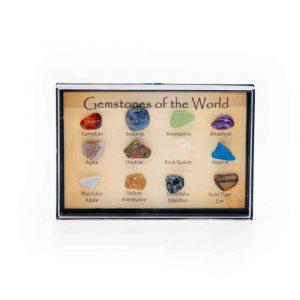 Edelsteine der Welt Set (15 Steine / 8 - 10 mm)