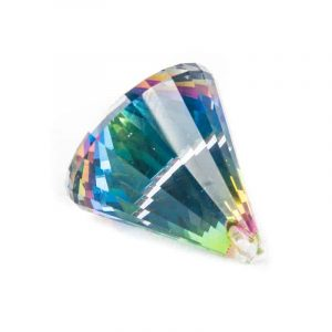 Regenbogen-Kristalle Kegel multicolor AAA Qualität