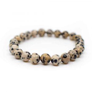 Edelstein Armband Dalmatinischer Jaspis
