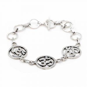 Armband OM Charme Silber (18 cm)