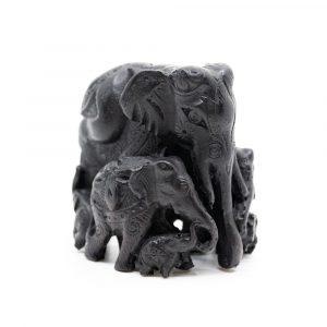 Statue Elefantenfamilie (10 cm)