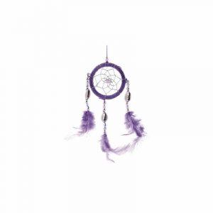 Traumfänger Violett Muscheln (5 cm)
