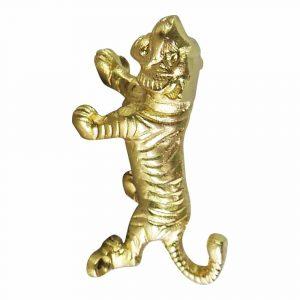 Kleiderhaken Gold Tiger