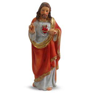 Statue des Heiligen Herzens Jesu (12 cm)