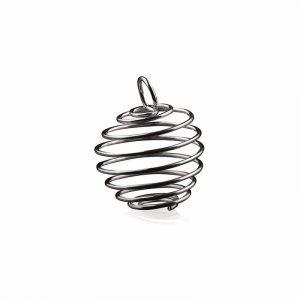Spiral oder Käfig Anhänger klein (15 mm)