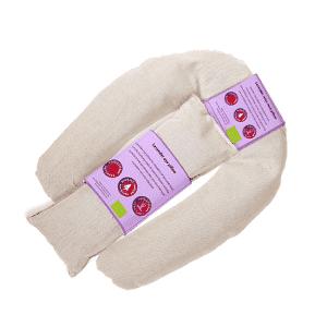 Augen- und Nackenkissen biologischer Lavendel beige
