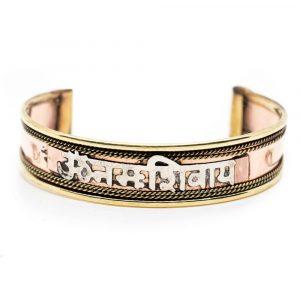 Tibetisches Armband Handgefertigt Kupfer