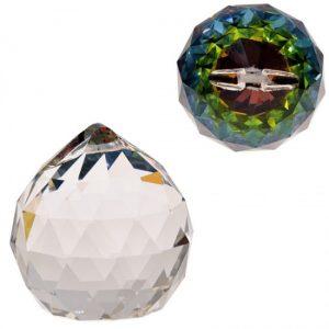 Regenbogen-Kristalle Kugel multicolor AAA Qualität (5 cm)