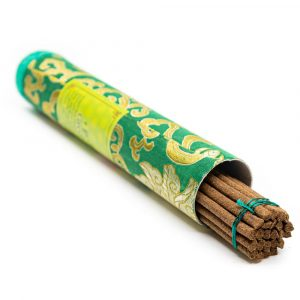 Tibetische Räucherstäbchen Köcher - Grüne Tara (20 Stück)
