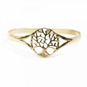 Armband Baum des Lebens Einstellbar Gold Farbe