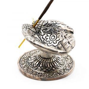 Traditioneller Weihrauchbrenner Gebende Hände Silber
