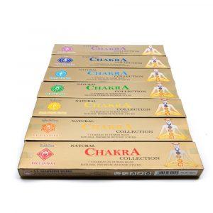 Weihrauch 7 Chakra Geschenkset (7 Päckchen)