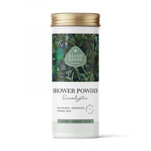 Vegan Dusch-Pulver Eukalyptus Bio Eliah Sahil (90 Gramm)