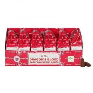 Drachenblut Backflow Räucherkegel - 75 g