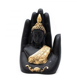 Buddha in Hand Gold(15 cm)