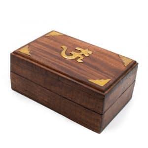 Tarot-Box mit OM (15 cm)