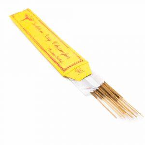 Tibetische Räucherstäbchen - Golden Nag Champa (15 Stück)