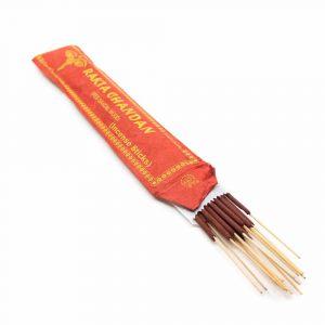 Tibetische Räucherstäbchen - Rotes Sandelholz (15 Stück)