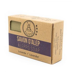 Aleppo Seife Lavendel - 8% Lorbeeröl - 100 Gramm
