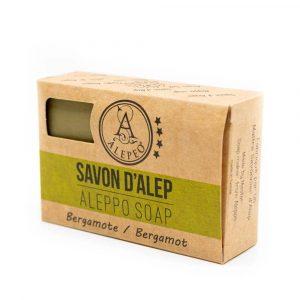 Aleppo-Seife Bergamotte - 8% Lorbeeröl - 100 Gramm