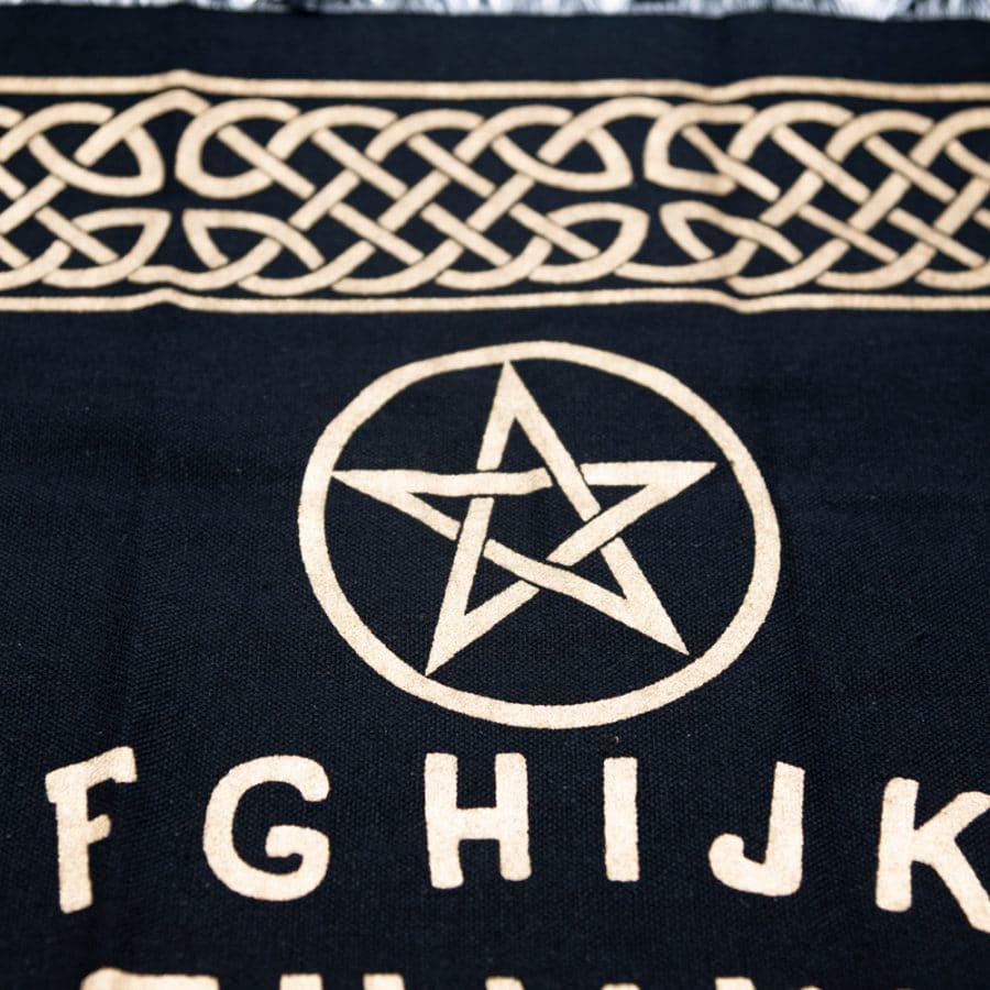 Pentagramm ouija tuch