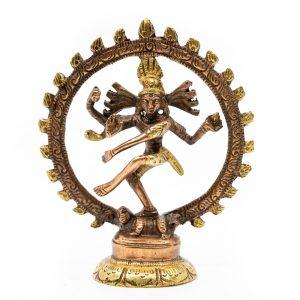 Shiva Nataraj Messing (10 cm)