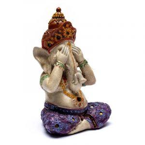 Ganesha Statue Sehen (15 x 10 x 21 cm)