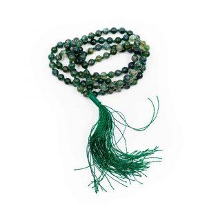 Edelstein Mala Moosachat - 108 Perlen