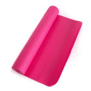 PVC Yogamatte Rosa - 183 x 61 x 0,4 cm