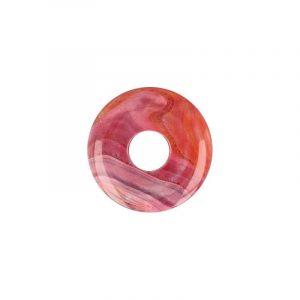 Donut Achat rot (50 mm)