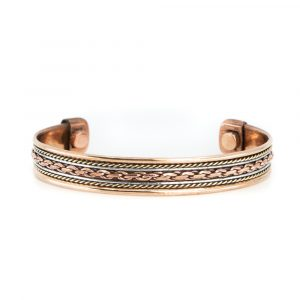 "Kupfer-Magnet-Armband ""Chain"""