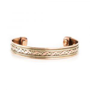 "Kupfer-Magnet-Armband ""Twirl"""