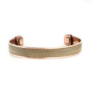 """Kupfer-Magnet-Armband """"Grid"""""""