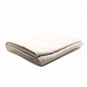 Meditationsdecke Handgewebt - Natürlich - 100% Baumwolle - 200 x 150 cm