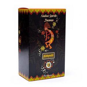 Goloka Native Spirits Weihrauch Kokopelli Rose (12 Packungen à 15 Gramm)