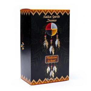 Goloka Native Spirits Weihrauch Medizinrad Moschus (12 Packungen à 15 Gramm)