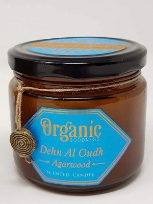 Organic Goodness Sojawachskerze Agarholz (200 Gramm)