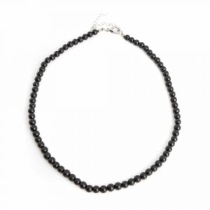 Edelstein-Halskette Schungit (46 cm)