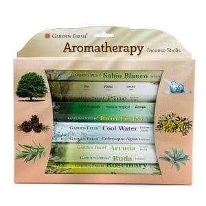 Garden Fresh - Aromatherapie-Weihrauch-Geschenk-Set (6er Pack)