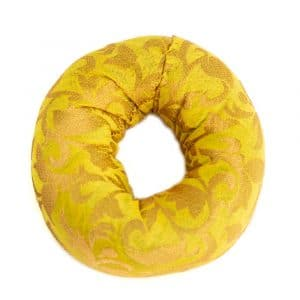 Klangschale Kissen Ringform Gelb (10 x 3 cm)