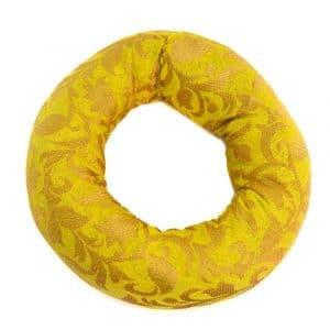 Klangschale Kissen Ringform Gelb (15 x 4 cm)