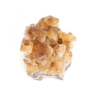 Roher Citrin Edelstein Cluster 2 - 4 cm