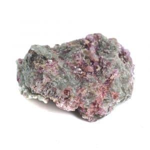 Roher Albit mit rosa Turmalin-Einschlüssen Edelstein 20 - 40 mm