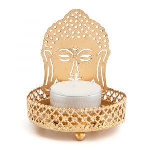 Teelichthalter Buddha (10 cm)