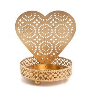 Teelichthalter Herz (10 cm)